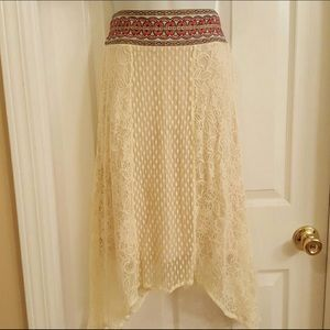 NEW no Tags - flying Tomato maxi skirt XS/S